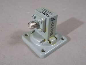 Waveguide To Coax 2000 6255 00 Adapter 12 4 18 Ghz Sma 454 000 001