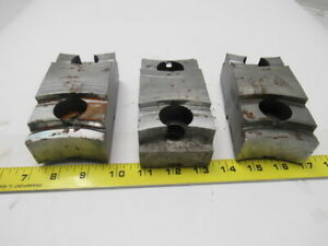 Daco Lathe Chuck Top Jaws 5 5 16 X 1 3 4 X 2 1 2 Lot Of 3