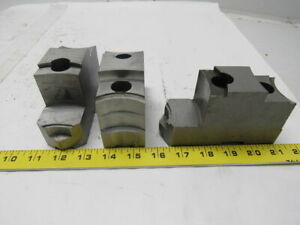 Daco 12kseh Lathe Chuck Top Jaws 5 X 3 X 1 3 4 Lot Of 3