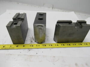 Daco 12kseh0p Lathe Chuck Top Jaws 5 X 3 1 2 X 1 3 4 Lot Of 3