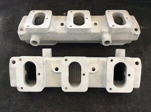 Oldsmobile Offy Offenhauser 6x2 Intake Rat Hot Rod 1949 1956 V 8 s