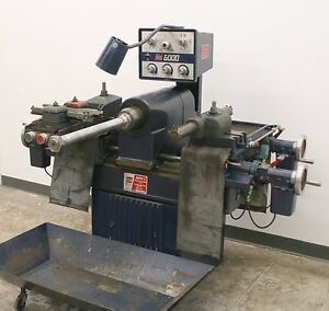 Ammco Super 6 Heavy Duty Truck Disc Drum Brake Lathe With Adapters 6000 5000 1