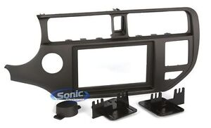 Metra 95 7353ch Double Din Install Dash Kit For Select 2012 Up Kia Rio Vehicles