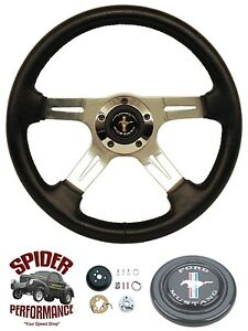 1970 1973 Mustang Steering Wheel Pony 14 Four Spoke