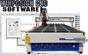 Cnc Router 1 Year License Winpcsign Cnc Designs And Gcode Software Control