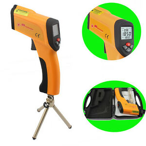 Ht 6889 Non contact High Temperature Laser Infrared Ir Thermometer Gun 58 2912