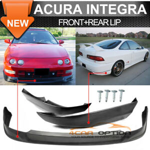 Fits 94 97 Acura Integra Concept Poly Urethane Front Lip T R Abs Rear Lip