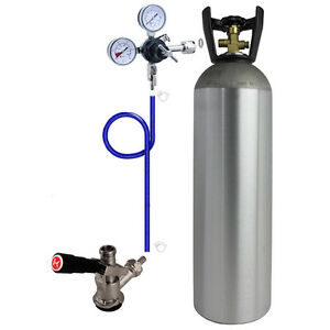 Kegco Direct Draw Kit For Kegerators And Jockey Boxes With 15 Lb Co2 Tank
