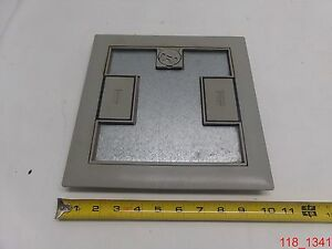 Hubbell Lcfbcgyc Floor Box Cover Gray