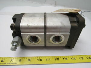 Commercial Shearing P11 Tandem Hydraulic Pump W relief Valve