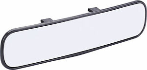 Universal 300mm Panoramic Wide Curve Convex Interior Clip On Rear View Mirror