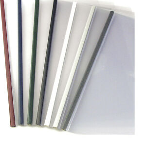 24mm Bordo 100pcs Unibind Steelmat Frosted Covers