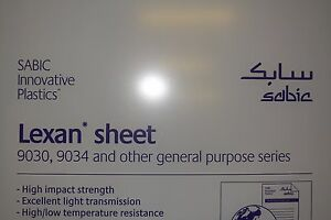 Polycarbonate Lexan Sheet Clear 1 2 X 24 X 12