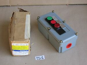 new Square D Class 9000 Type Dtyn Series A Start stop Push Button Switch