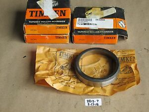 Lot Of 3 New In Box Timken 3920 Tapered Roller Bearing Cup