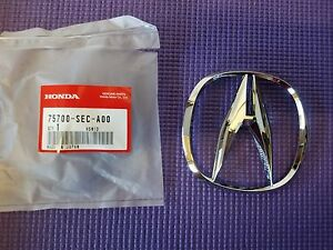 Fits Genuine Acura Tsx Rdx Front Grille a Chrome Emblem Badge 75700 sec a00