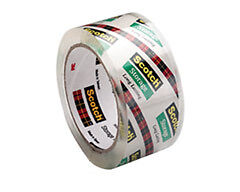 16 Rolls 3m 2 X 55 Yd 3850 8 Scotch 2 6mil Box Storage Packing Tape
