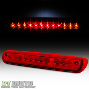 red Lens 2007 2013 Chevy Silverado Gmc Sierra Led 3rd Brake Light Cargo Lamp