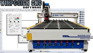 Winpcsign Cnc Router Mill 2019 Software Designs G code Support