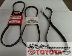 Oem Toyota Tacoma Triple Belts For Timing Chain Engines Fits 1997 2005 Vin Req