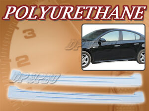 Type 4 Polyurethane Pu Add on Side Skirt Body Kit For 11 12 Chevy Cruze