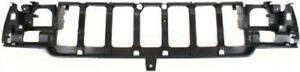 Front Header Headlight Grille Mounting Panel For 1996 1998 Jeep Grand Cherokee