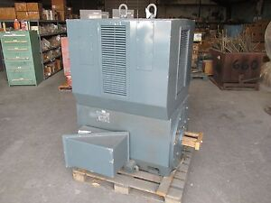 new Siemens Allis 250 Hp Electric Motor Type F0ds Model 120 4000v 3600 Rpm