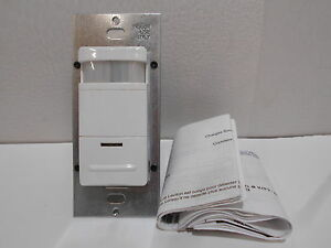 New Philips Lrs221000 Mle Pir Wallbox Occupancy Sensor Single Relay Switch