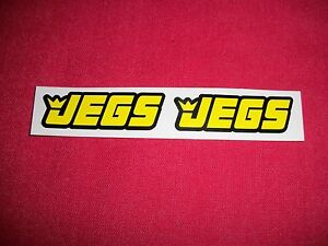 Jegs Racing Amp Performance Parts Sticker Decal