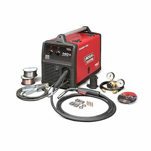 Lincoln Power Mig 140c Mig Welder Pkg K2471 2