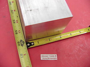 3 X 3 Aluminum 6061 Square Solid Bar 60 Long T6511 Flat Mill Stock