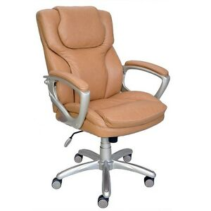 True Innovations Puresoft Managers Chair Tan 84865 E42132