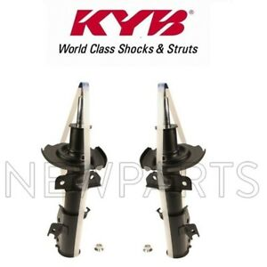 Pair Set Of Front Left Right Suspension Struts Assies Kyb Excel G For Mazda 2