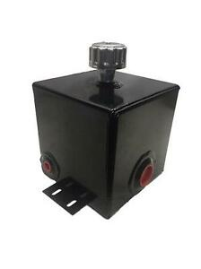 Hydraulic Log Splitter Tank Oil Reservoir 2 8 Gallon Steel Bottom Mount Breather