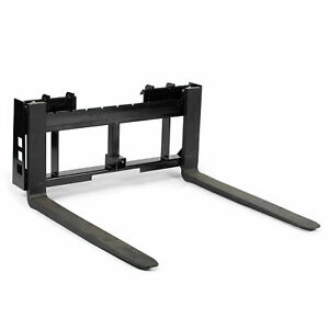 Titan Skid Steer 48 Pallet Fork Trailer Hitch Attachment Bobcat Case Kubota