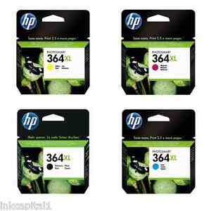 Hp No 364xl Multi Pack High Capacity Original Oem Inkjet Cartridges B c m