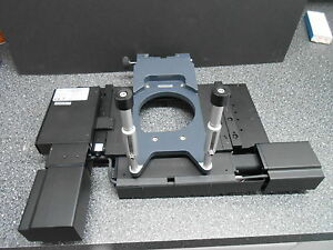 Prior H1p1alsm b 114 X 75mm Motorized Scanning Microscope Stage Zeiss Bracket