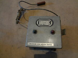 Process Control System Maxigard A1000 Motion Switch