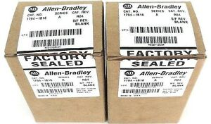 Lot Of 2 Nib Allen Bradley 1794 ib16 Flex I o 1794ib16 Ser A Cat Rev R04