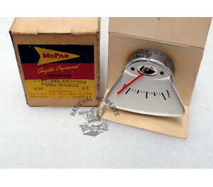 Mopar Nos 1961 Plymouth Valiant Fuel Gauge 2209203