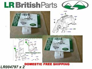 Land Rover Luggage Retainer R Rover 03 12 Lr2 Set Of 2 Oem New Lr004797