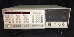 Hp 8350b Sweep Oscillator W 86250c Rf Plug In Excellent Condition
