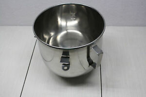 New Replacement Stainless Steel Electric Mixer Bowl 8qt 8 Qt Fits Several Models