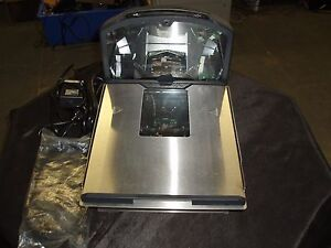 Metrologic Stratos Grocery Scale Scanner Ms2320 11ks Rs232 Serial Cre Pcamerica