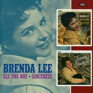 Brenda Lee All The Way Sincerely New CD UK Import $15.29