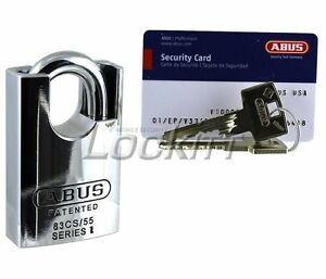 Abus 83cs 55 Padlock Vitess High Security Made In Germany Keyed Different