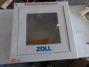 Zoll Standard Metal Wall Cabinet With Alarm 8000 0855 New