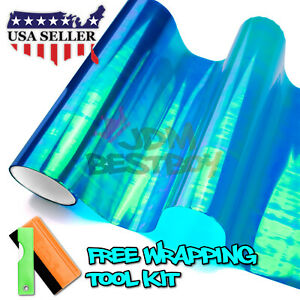 galaxy Chameleon Neo Chrome Dark Blue Headlight Taillight Fog Light Tint Film