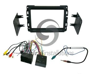 Radio Stereo Mounting Installation Dash Kit Combo Dd Wire Harness Antenna D1