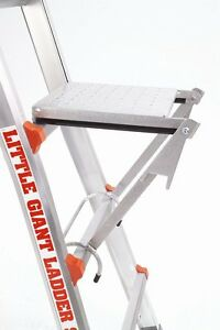 Little Giant Ladder Systems 10104 375pound Rated Work Platform Ladder Accessory